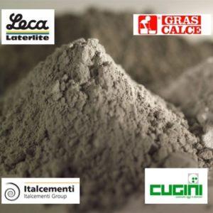 Cementi - calce - inerti